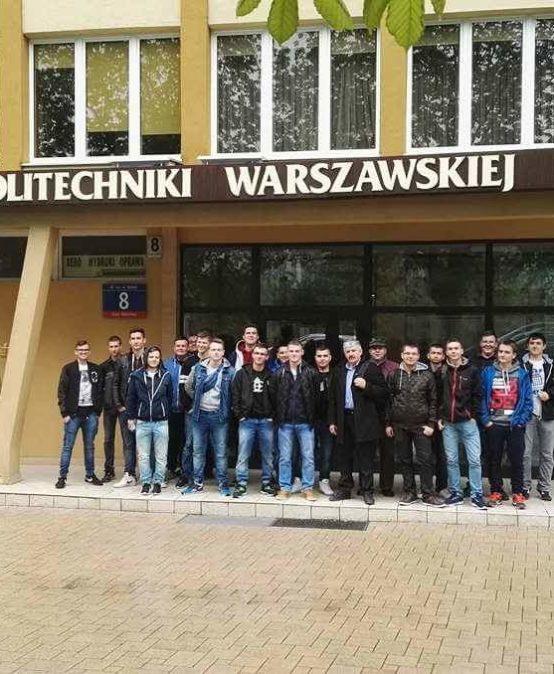 Wycieczka 3mt na Wydział Mechatroniki Politechniki Warszawskiej