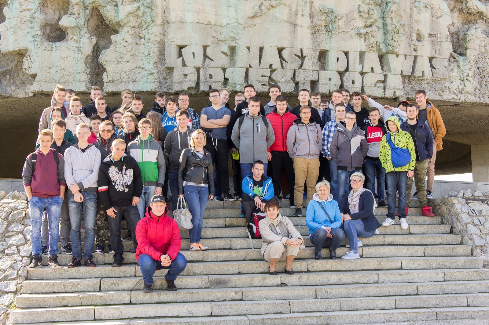 Wycieczka do Lublina uczniów klas II ib i II gemt