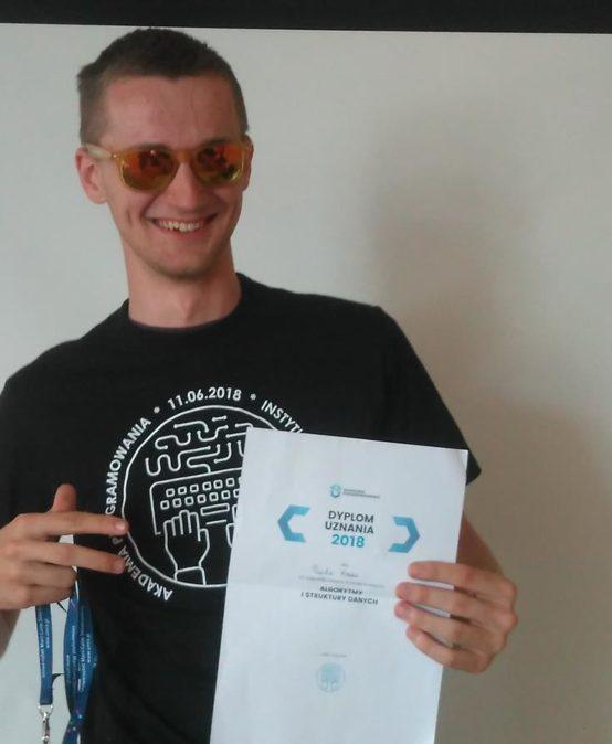 Konkurs Algorytmy i Struktury Danych – Paweł Kruk