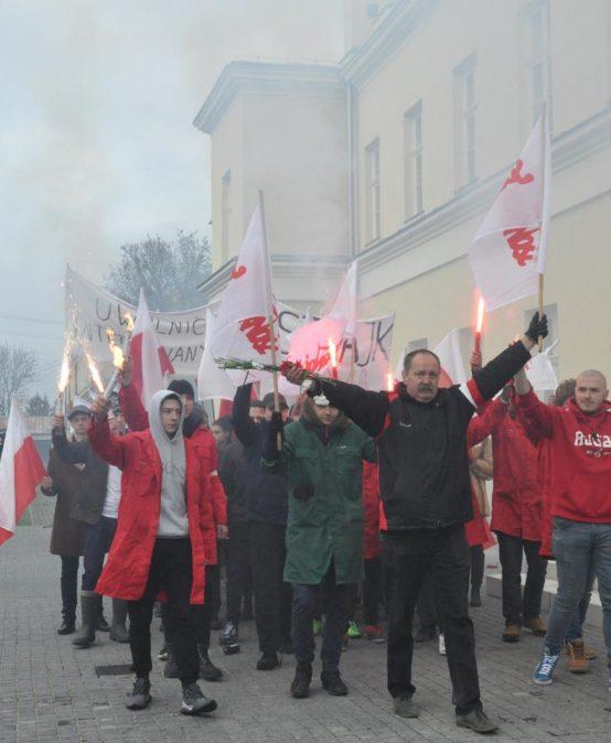 Chełm. Uroczystości upamiętniające ofiary stanu wojennego