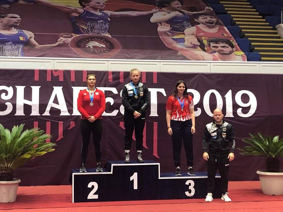 EWELINA KACZYŃSKA na podium w Rumunii