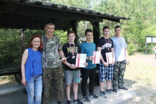 Zawody strzeleckie SK LOK W Kumowej Dolinie