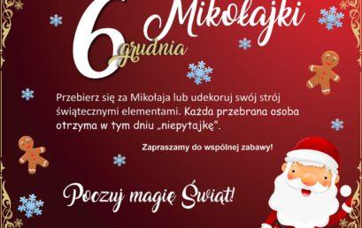 Mikołajki 6 grudnia – Poczuj magię świąt!