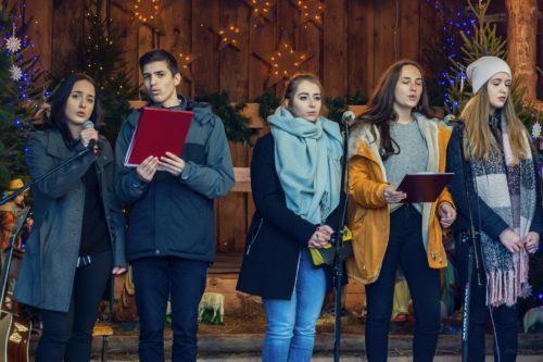 Kolędy i pastorałki – Występ uczniów ZST na Placu Łuczkowskiego
