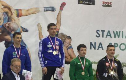 Srebrny medal Piotra Lewandowskiego